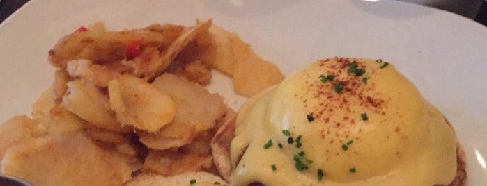 Sanfords is one of NYC's Best Eggs Benedict Dishes.