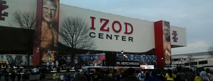 IZOD Center is one of Sporting Venues....