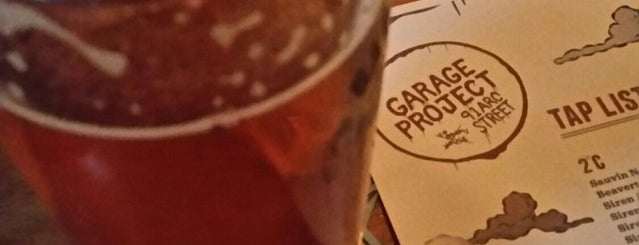 Garage Project Taproom is one of Wellington 2019.