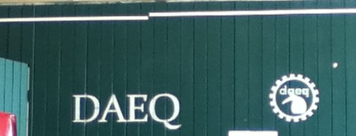 DAEQ is one of UFPR - Centro Politécnico.
