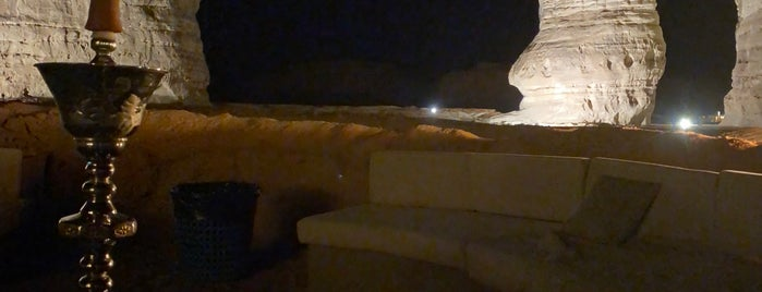 The Elephant Rock is one of Al Ula.