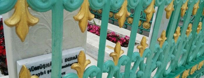 Gümüşhanevi Dergahı Şeyhi Ahmed Ziyaüddin Türbesi is one of 1-Fatih to Do List | Spiritüel Merkezler.