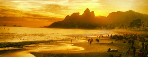 Pedra do Arpoador is one of South America.