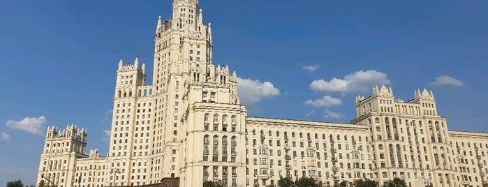 Kotelnicheskaya Embankment Building is one of Dari 님이 좋아한 장소.