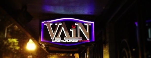 Vain is one of CLUBS AND BARS.