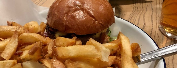 Honest Burgers is one of London 2019.