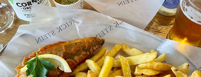 Rick Stein Fistral is one of Fish & Chips???.