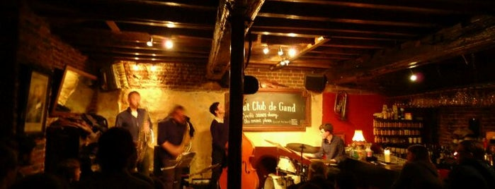 Hot Club de Gand is one of Top Bars in Ghent.
