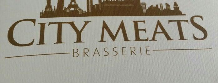 City Meats Brasserie is one of Orte, die Erdem gefallen.
