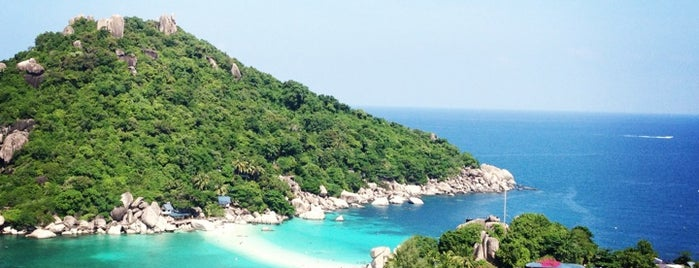 Koh Nang Yuan is one of Lieux qui ont plu à Alan.
