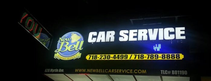 New Bell Car Service is one of Fort Greene+Clinton Hill+Bed-Stuy.