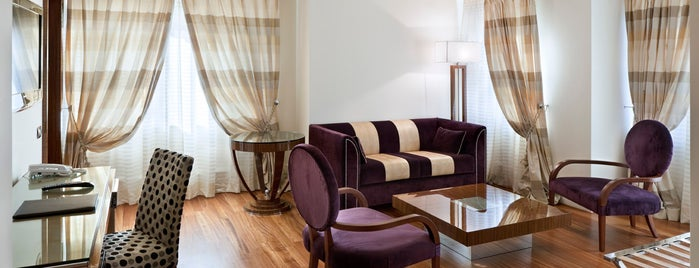 UNAHOTELS Decò Roma is one of BUCKET LIST.