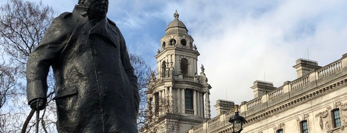 Winston Churchill Statue is one of London city guide.