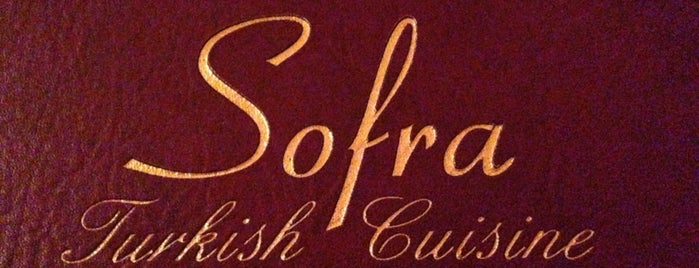 Sofra is one of Favorite New Jersey Spots.