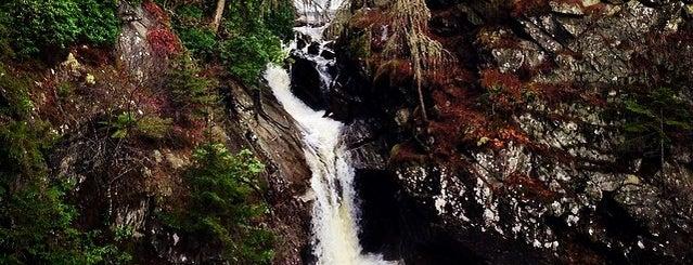 Falls of Bruar is one of สถานที่ที่ Henry ถูกใจ.
