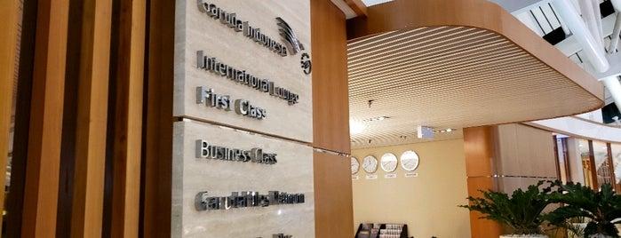 Garuda Business Class Lounge is one of Orte, die Donn gefallen.