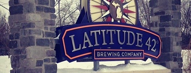 Latitude 42 Brewing Company is one of Michigan Breweries.
