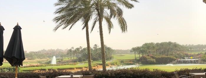The Westin Cairo Golf Resort & Spa Katameya Dunes is one of Queen 님이 저장한 장소.