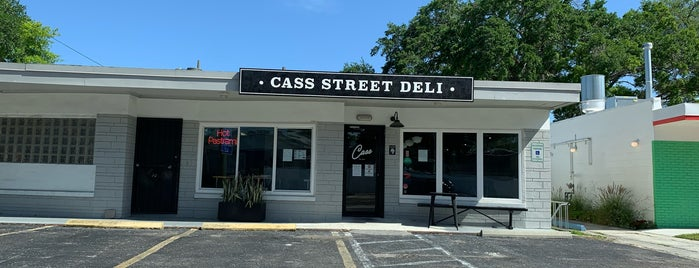 Cass Street Deli is one of Tampa Eateries.