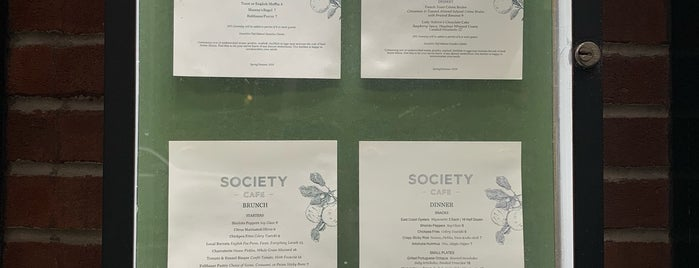 Society Cafe is one of Chrillary Hit List.