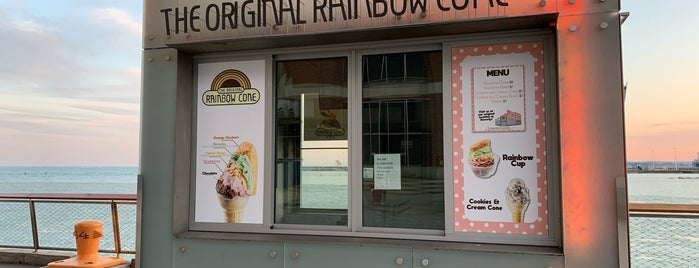 The Original Rainbow Cone is one of Chitown 2019.