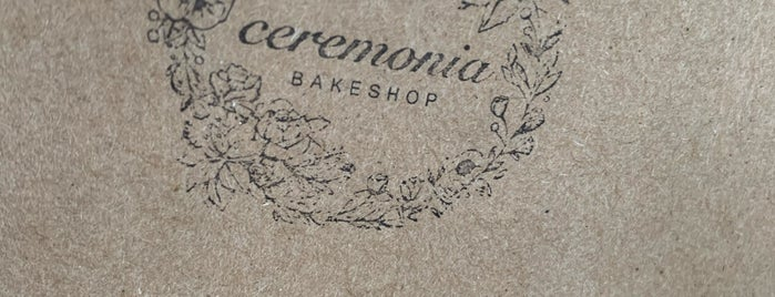 Ceremonia Bakeshop is one of Where To Check Out: NYC Edition.