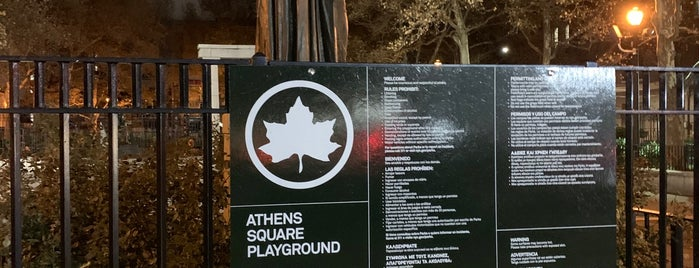 Athens Square Park is one of Kimmie 님이 좋아한 장소.