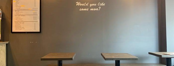 Moa Coffee is one of สถานที่ที่ K ถูกใจ.