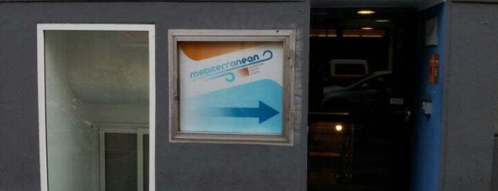 Mediterranean Hostel is one of Barcelona, Espanha.