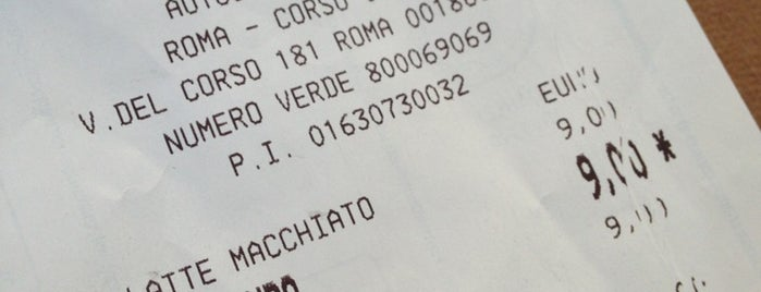 Autogrill is one of cose manco a roma!.