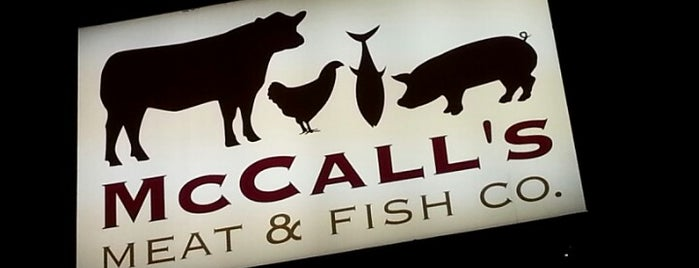 McCall's Meat & Fish Company is one of Lieux qui ont plu à Robert.