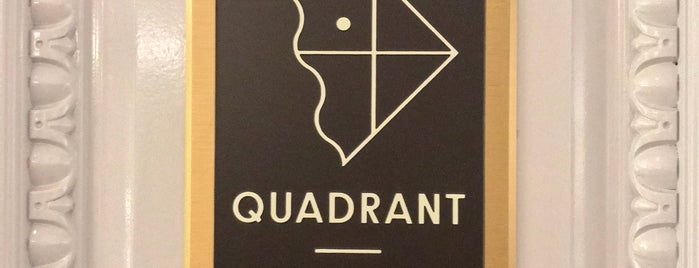 Quadrant is one of Lieux qui ont plu à Freddy.