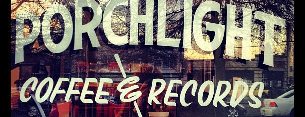 Porchlight Coffee & Records is one of Lugares guardados de Tabitha.