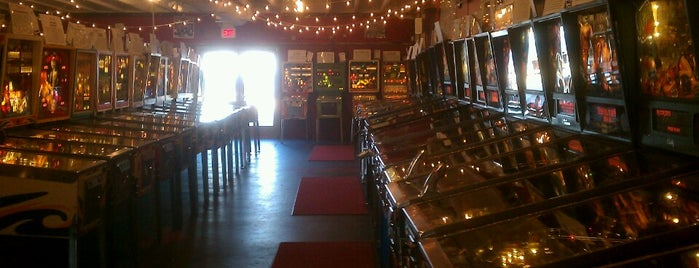 Silverball Museum is one of Pinball Destinations.