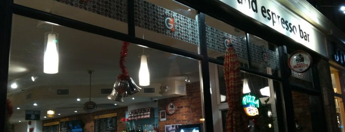 G For Gelato and Pizza Bar is one of CAN Toronto Favourites.
