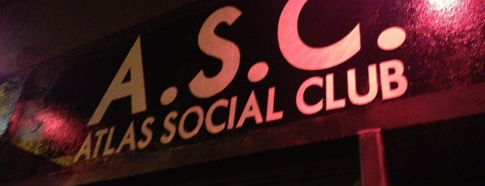 Atlas Social Club is one of Josiah 님이 좋아한 장소.