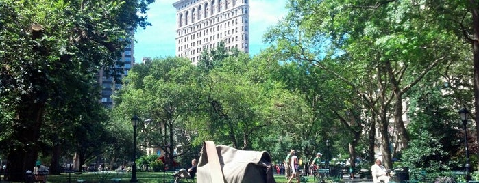 Madison Square Park is one of Usual spots.