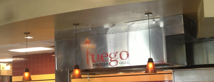 Fuego Tortilla Grill is one of Lugares favoritos de Matthew.