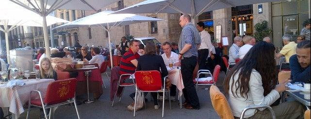 El Paraigua is one of Terrazas Barcelona.