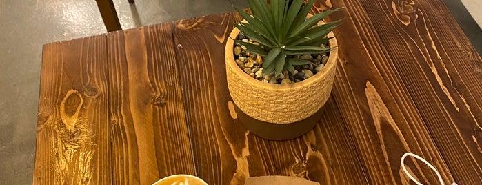 قهوة خُوص is one of Coffee shops | Riyadh ☕️🖤.