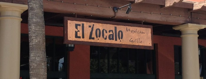 El Zocalo Mexican Grille is one of Everything Under My Sun!.