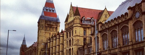 University of Manchester is one of Leen'in Beğendiği Mekanlar.