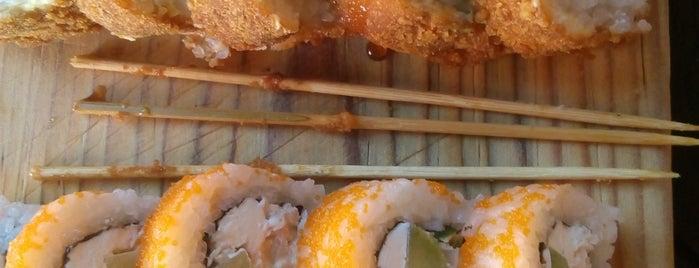Nueve Uno Sushi Roll & Lunch is one of Selene 님이 좋아한 장소.