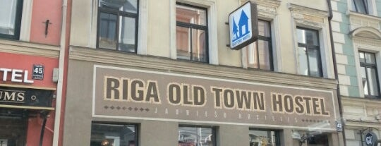 Riga Old Town Hostel is one of Orte, die Carl gefallen.