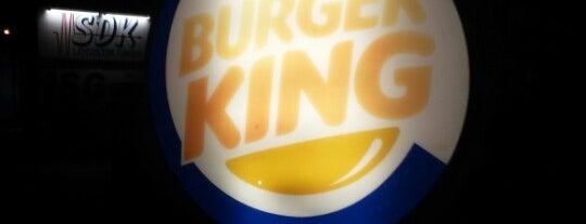 Burger King is one of สถานที่ที่ Blain ถูกใจ.