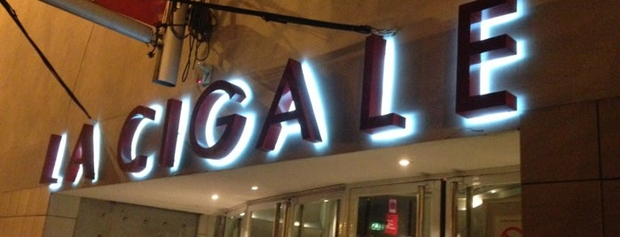 La Cigale is one of Paris.