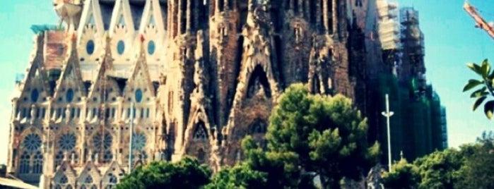Sagrada Família is one of Viva Barcelona!.