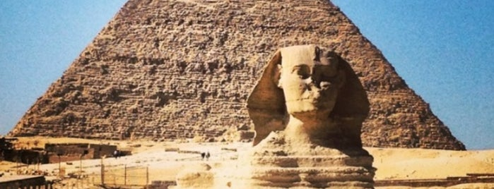 Great Sphinx of Giza is one of BB / Bucket List.