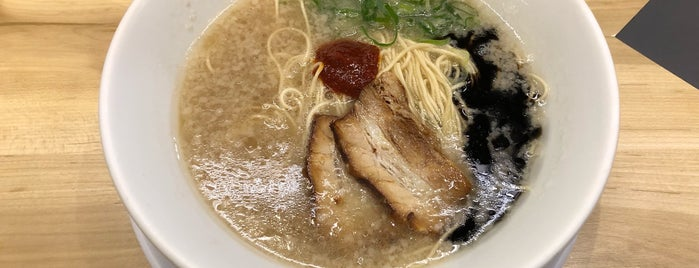 Ippudo Shiromaru-Base is one of Tokyo Recommendations.