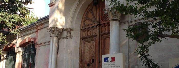 Fransız Kültür Merkezi is one of Eat, dream, love!.